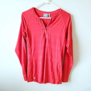Athleta Womens Long Sleeve Pullover Athletic Top